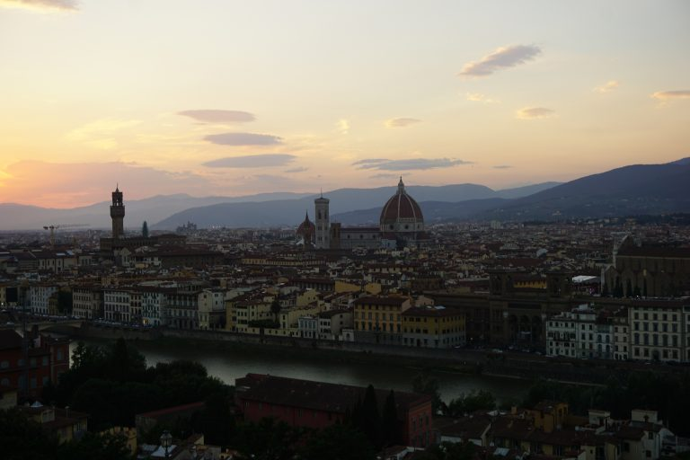 Cheat Sheet: Art in Florence, Italy