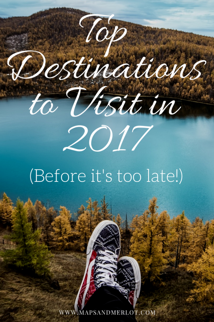 Top Travel Destinations for 2017