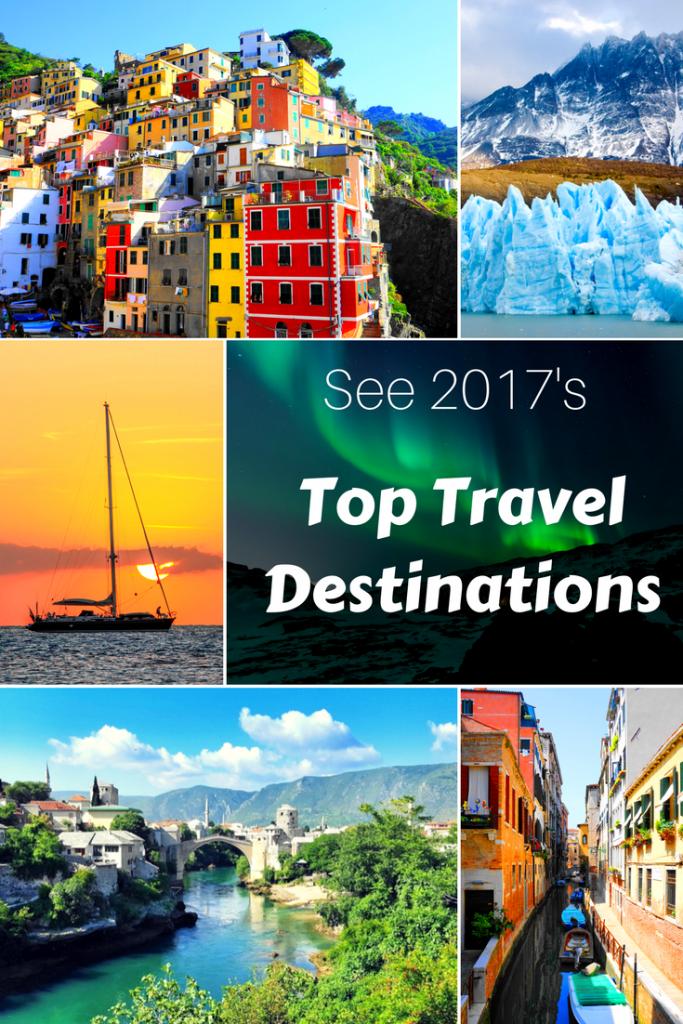 Top Travel destinations of 2017