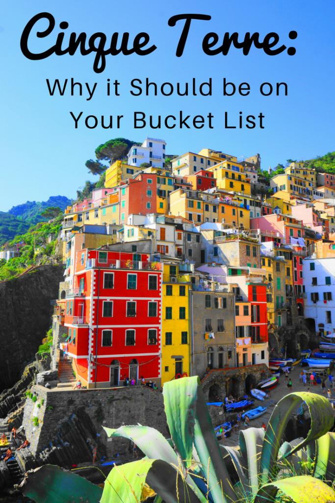 Cinque Terre Bucket List