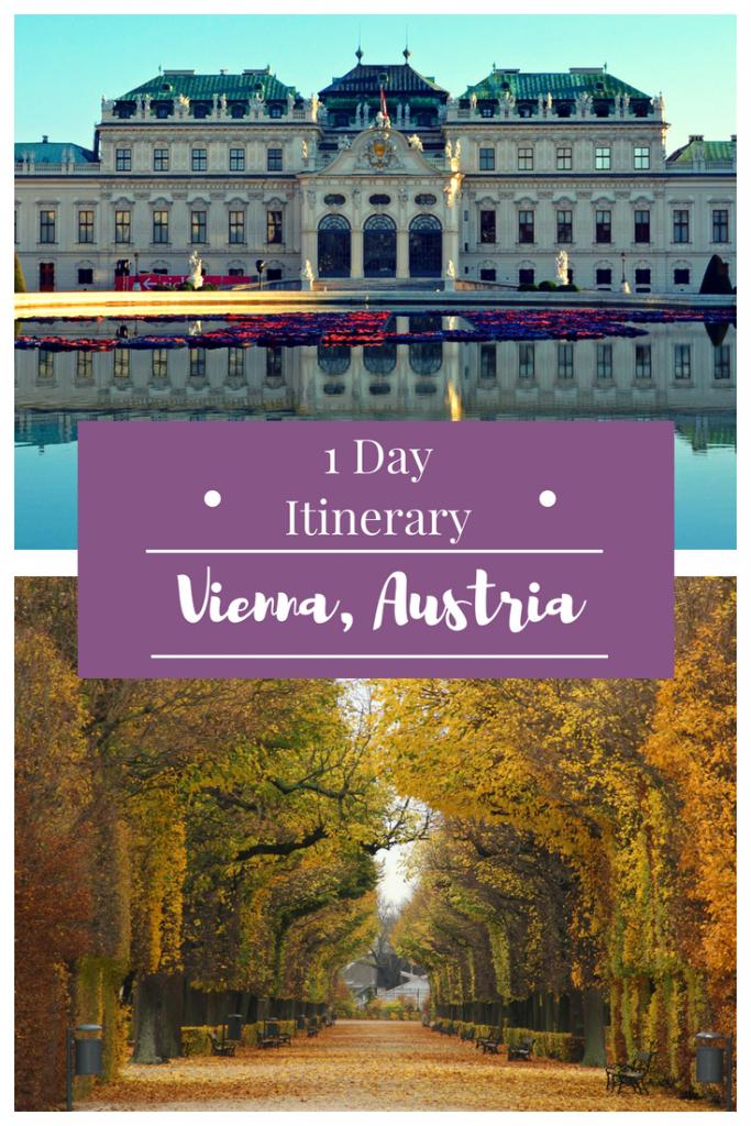 Explore Vienna, Austria in 24 hours; discover the perfect 1 day itinerary through Vienna, Austria! #vienna #austria #travel #karlskirche #rathaus #Hundertwasserhaus #Volksgarten #Naschmarkt