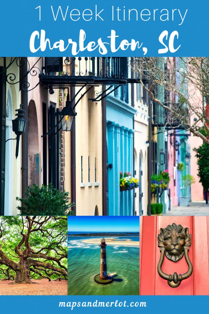 1 week in Charleston, South Carolina