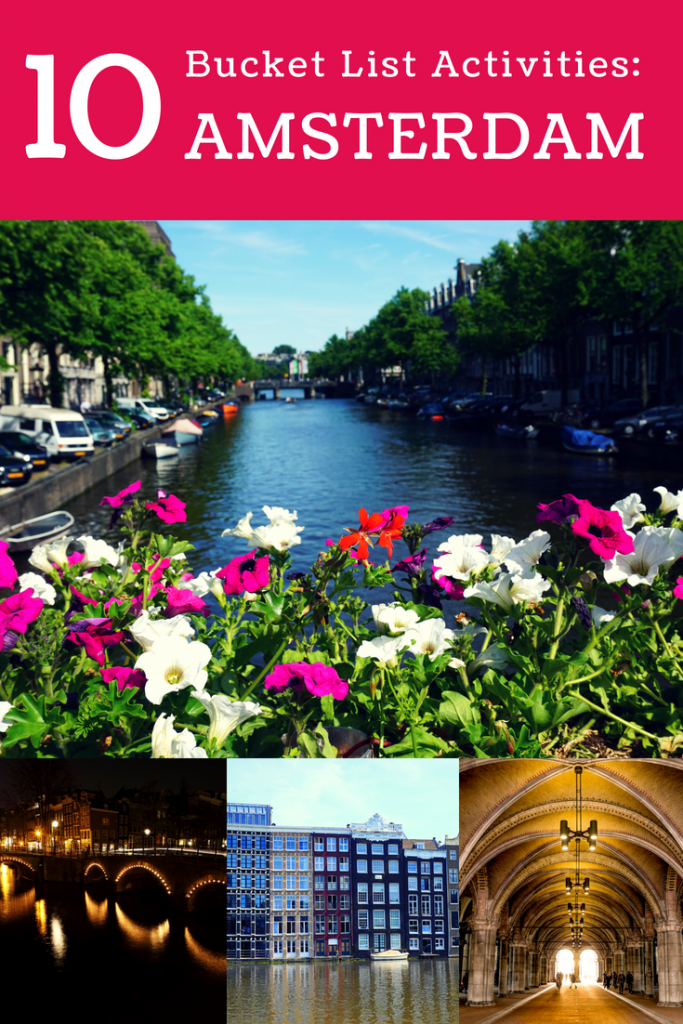 Discover the top 10 things to do in Amsterdam! #amsterdam #netherlands #canal #Rijksmuseum
