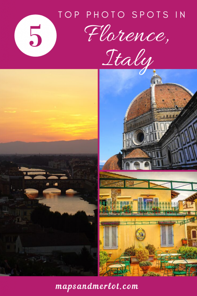 top photo spots in Florence, Italy