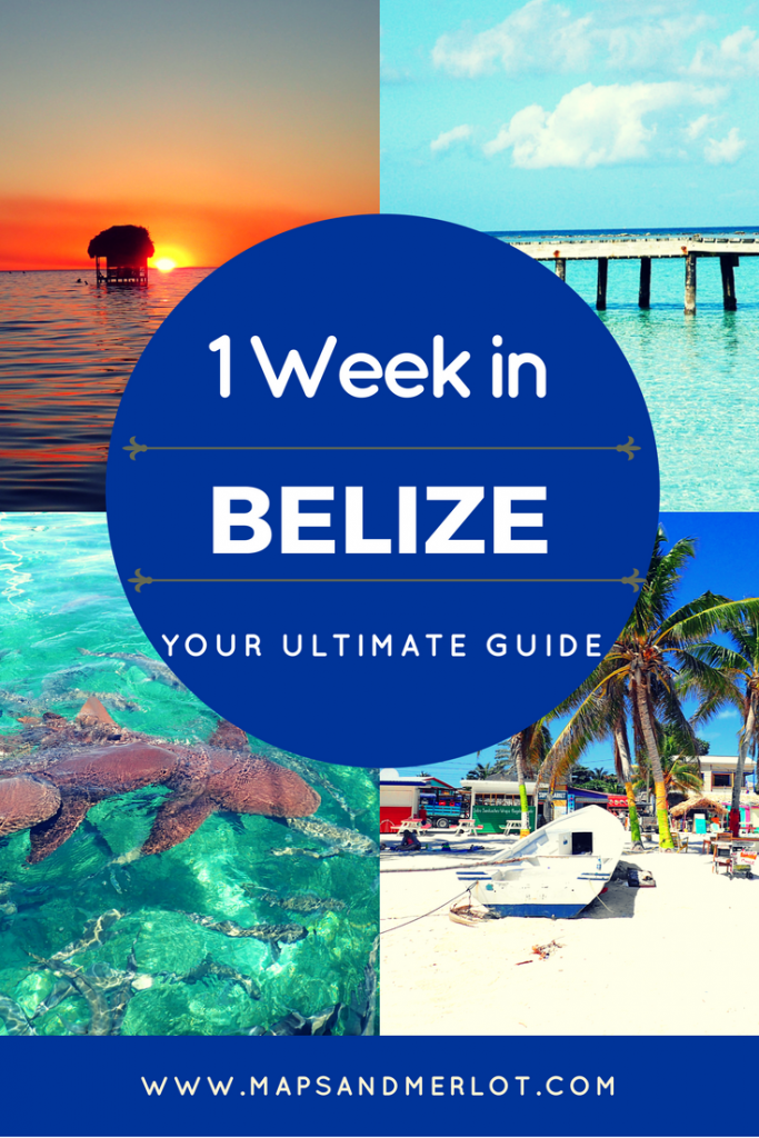 Belize 7 day itinerary; Belize one week itinerary; how to plan one week in Belize; 7 days in Belize
