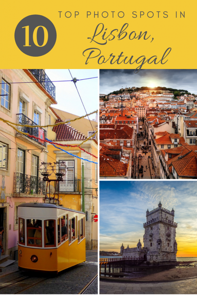Discover the top photo spots in Lisbon! #lisbon #portugal #alfama #belem
