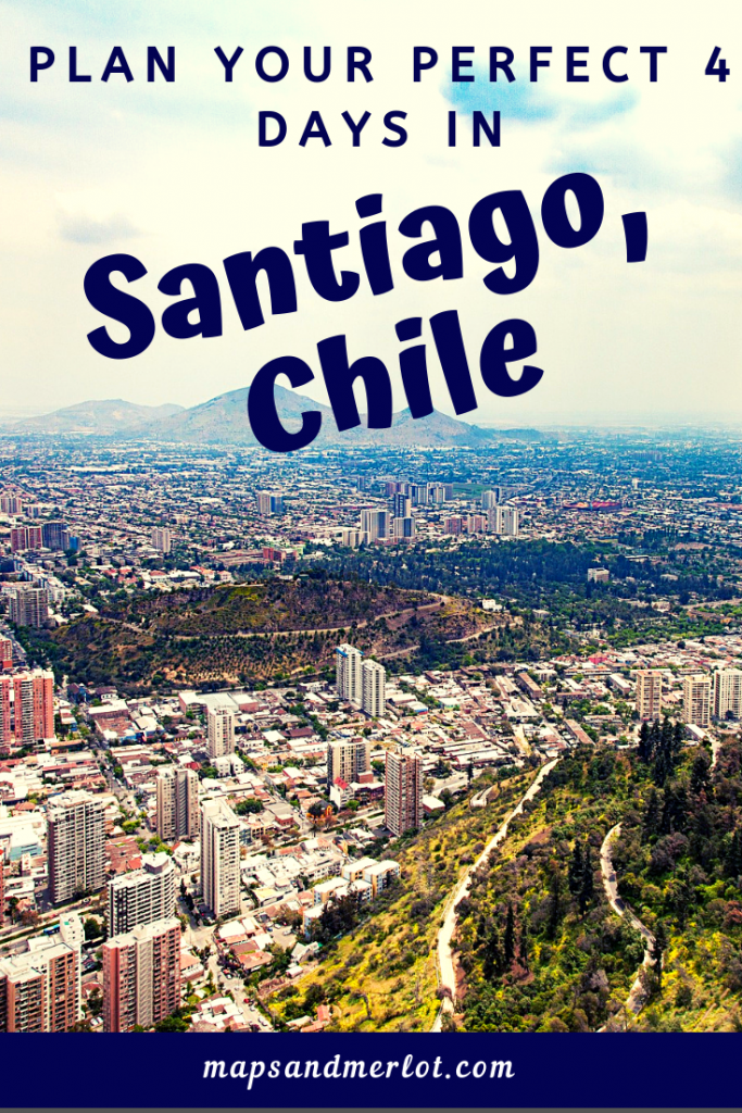 Plan your perfect 4 days in Santiago, Chile! #Santiago #Chile #cajondelmaipo
