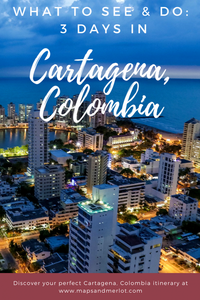 Discover the perfect 3 days in Cartagena, Colombia! Explore a 3 or 4 day itinerary through Cartagena. #cartagena #colombia #travel #travelcartagena #rosarioislands #getsemani #southamerica