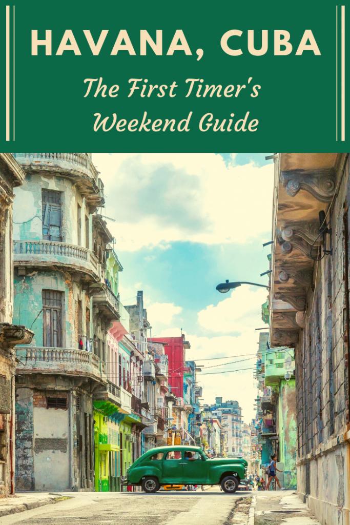 Plan an epic 3 days in Havana, Cuba! #havana #cuba #travelcuba #malecon #elmorro