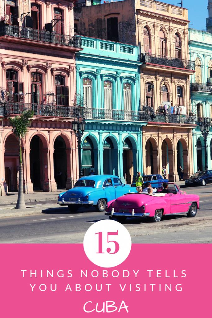 15 things to know before visiting Cuba - Cuba travel tips #cuba #travelcuba #havana