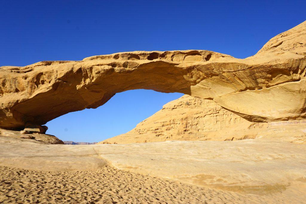 Arch in Wadi Rum, Jordan