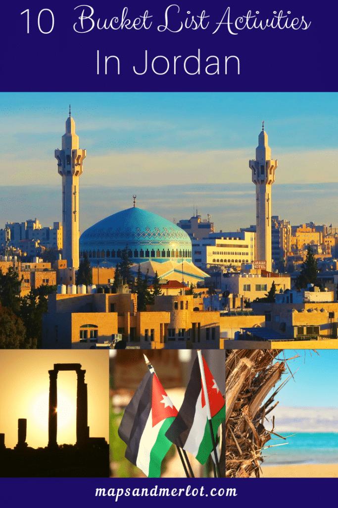Discover the 10 top tourist attractions in Jordan! Explore Petra, Wadi Rum, Jerash, the Dead Sea, Aqaba, and Amman. #travelJordan