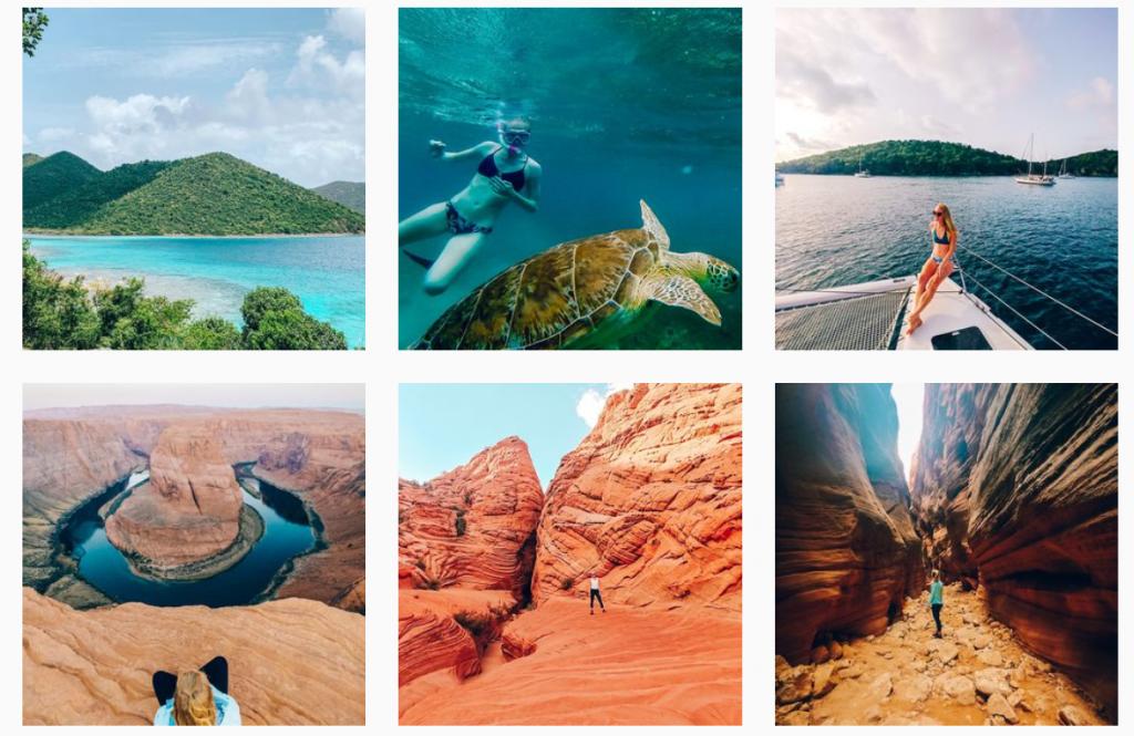 Maps & Merlot Instagram Grid