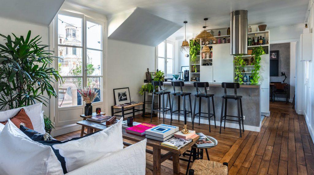 Mykonos Muse Plum Guide apartment in Paris